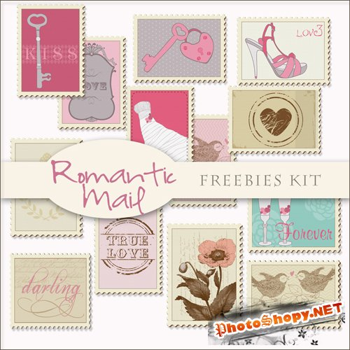 Scrap-kit - Romantic Mail