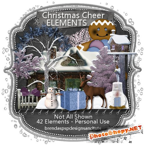 Scrap-kit - Christmas Cheer