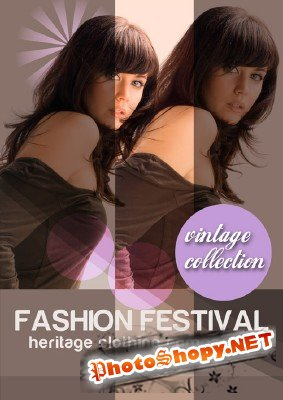 Fashion Brochure PSD Template 2011