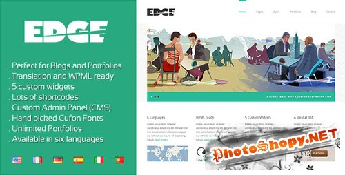 Themeforest - Edge Professional WP Theme