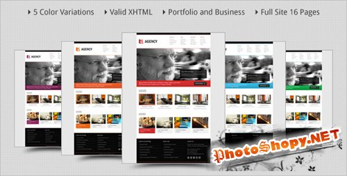 ThemeForest - Agency - Portfolio and Business HTML Template - Rip