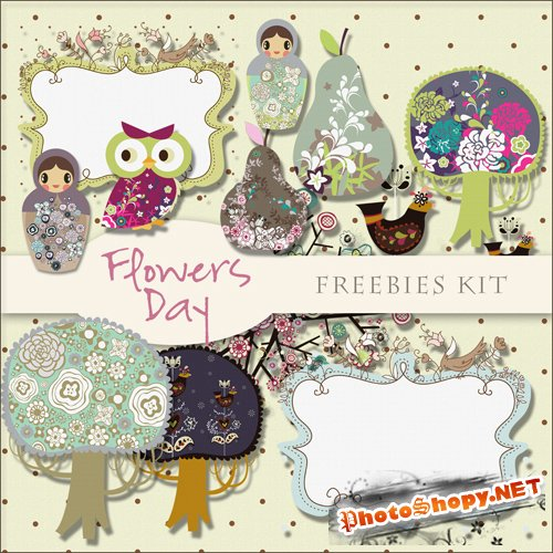 Scrap-kit - Flowers Day