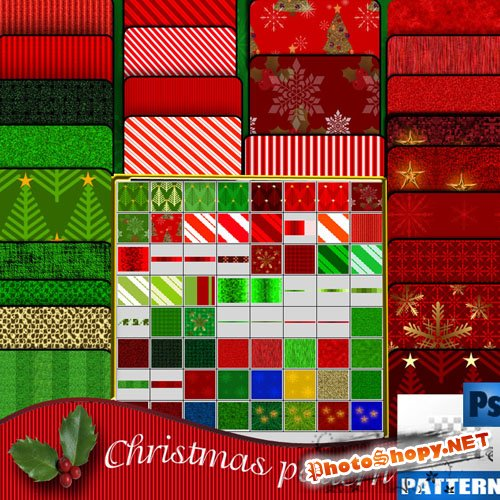 Christmas Pattern by Roula