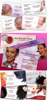 Beauty Salon Business Cards Pack