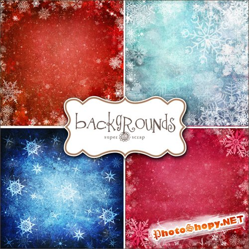 Textures - Christmas Backgrounds #11