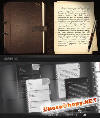 Journal psd and template psd