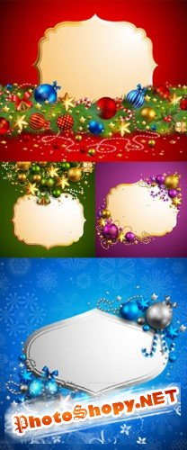 Beautiful Christmas background 04