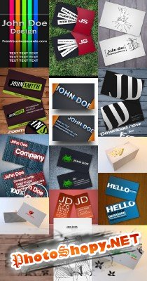 PSD Business Cards 2011 pack # 26