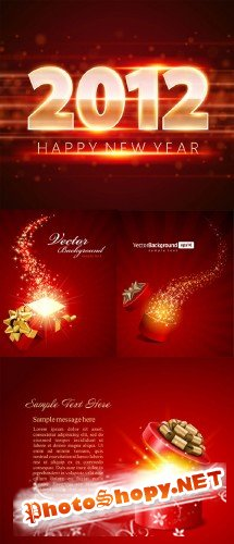 Gorgeous festive background 02