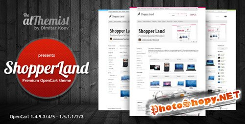 ThemeForest - Shopper Land v. 1.4 for OpenCart