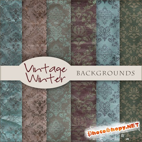 Textures - Old Vintage Backgrounds #58