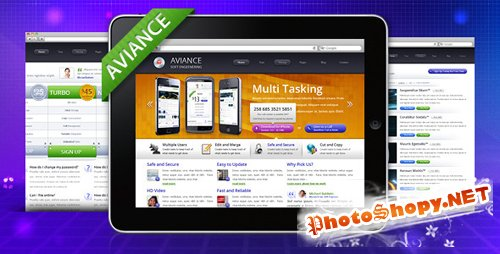 ThemeForest - Aviance - Creative and Business HTML Template - RiP