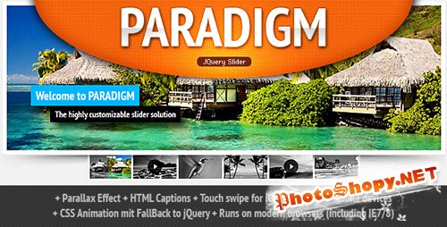 CodeCanyon - Paradigm Slider jQuery Plugin - RiP