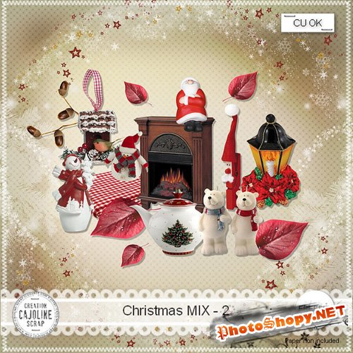 Scrap-kit - Christmas MIX 2