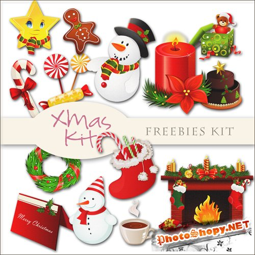 Scrap-kit - X-mas Decor #8
