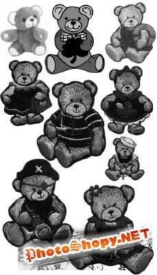 Teddy Bears brushes
