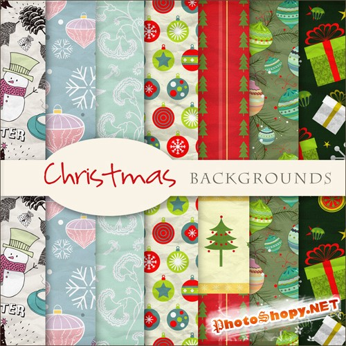 Textures - Christmas Backgrounds #22
