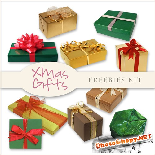 Scrap-kit - X-mas Gifts