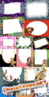 Collection of Beautiful  PSD photo frame  2011 pack # 1