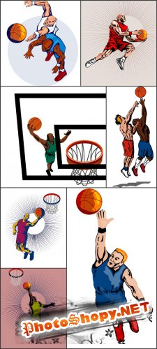 Rastr Cliparts - Basketball