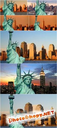 Photo Cliparts - Statue of Liberty