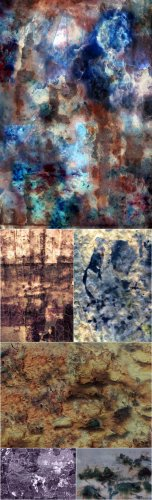 Textures - Rusty, Flaky Old Paint Vol. 05