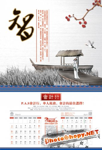 Calendar Year 2012 accounting firm PSD layered material 2
