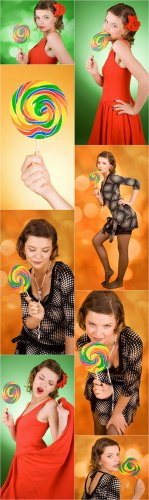 Photo Cliparts - Lollipop