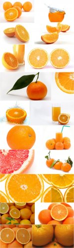 Photo Cliparts - Orange
