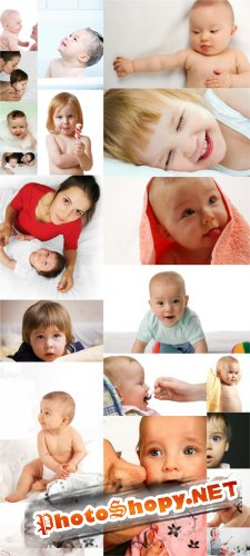 Photo Cliparts - Baby-part 2