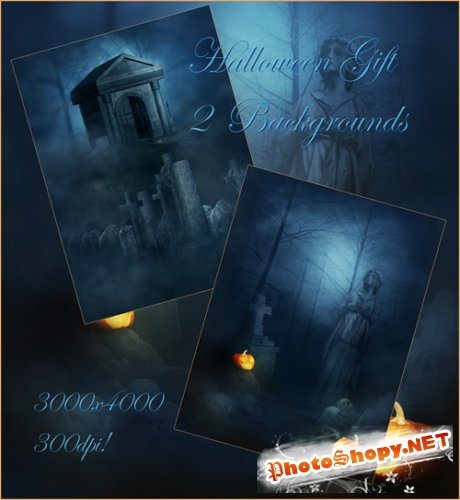 Halloween Gift Backgrounds