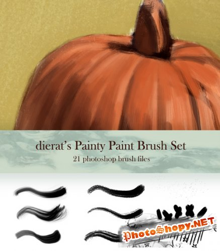 My Painty Paint Brush Set