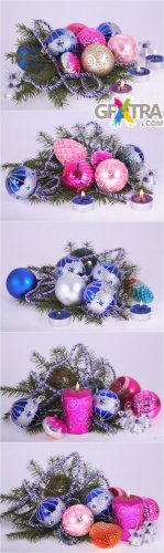 Christmas Ornaments 2 - Photo Cliparts