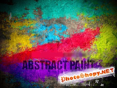 Abstract Paint brushes for Photoshop