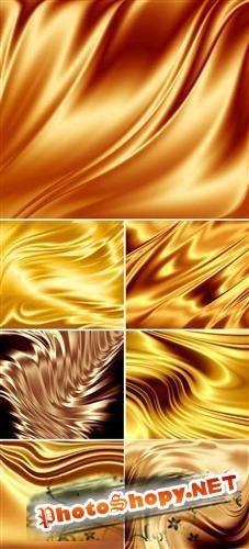 Шоколадно - золотые фоны