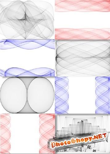 Клипарт - Абстрактные геометрические фоны