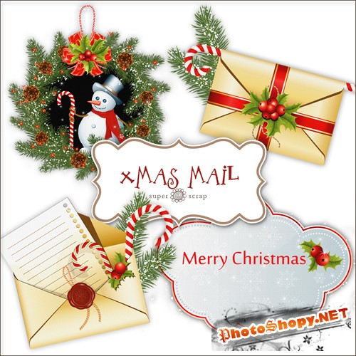 Scrap-kit - X-mas Mail