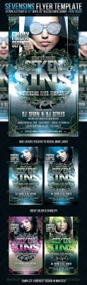 Sevensins Flyer Template - GraphicRiver