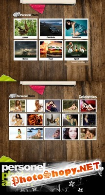 Photo Album PSD