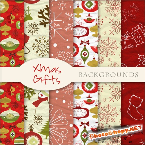 Textures - Christmas Backgrounds #28