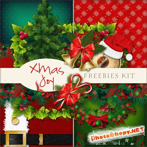 Scrap-kit - X-mas Joy