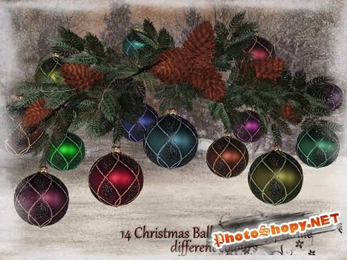 Christmas Balls 2 Ёлочные игрушки