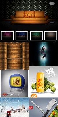 Collection PSD source for Photoshop 2011 pack # 66
