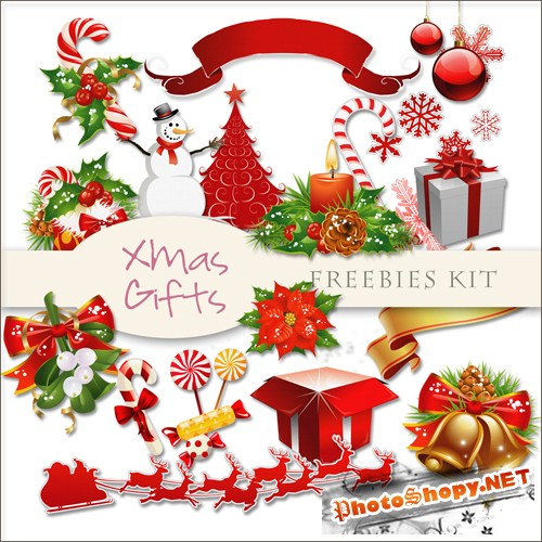 Scrap-kit - X-mas Decor #17