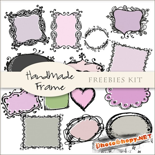 Scrap-kit - Handsmade Frames