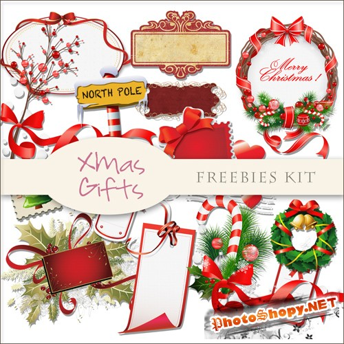 Scrap-kit - X-mas Decor #18