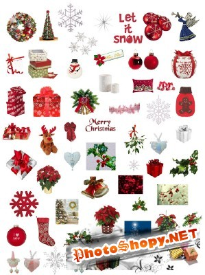 Beautiful Merry Chistmas psd pack