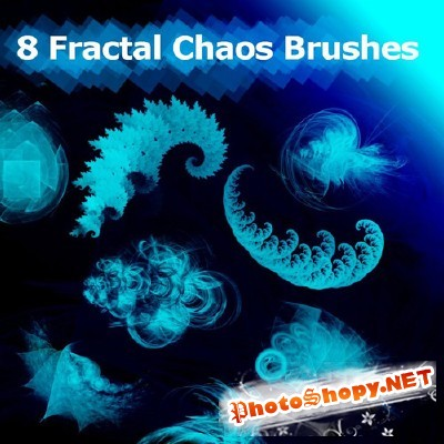Brushes - 8 fractal chaos