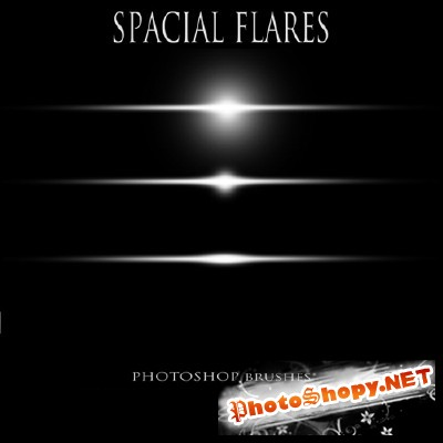 Brushes set - Spacial flares