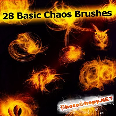 Brushes set - 28 basic chaos